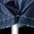 Afdekhoes verkeersbord 800x1050, polypr. 4 ringen + LOGO 1 kleur (100 stuks)