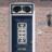 Huisnummerbord vlak Pijl 119x109mm - reflecterend klasse 3