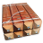 Uitneembare Diamantkoppaal hardhout (FSC) met grondstuk