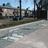 Anti parkeerbeugel verzonken 950x450x48mm staal + betonfundatie - in straatwerk
