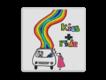 informatiebord reflecterend met eigen ontwerp tekening kind Kiss en Ride