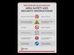 informatiebord reflecterend eigen ontwerp veiligheid en beveiliging instructies gebied terrein bedrijf