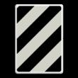 Verkeersbord RVV BB04 Verkorte uitvoegstrook