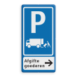 Verkeersbord RVV E07 - 2txt