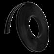 Rubber beschermband voor gecoate masten - 20 mm breed - rol 10 mtr