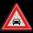 Verkeersbord RVV J35 - Vooraanduiding slecht zicht