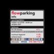 Parkeer- informatiebord vierkant full-colour opdruk