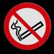 Verbodsbord Roken verboden