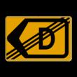 Omleidingsbord - T201l-de - Werk in uitvoering