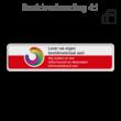 Informatiebord rechthoek 4:1 reflecterend + eigen opdruk