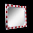 Verkeersspiegel acryl - 800x600mm - met opvallend rood/wit kader