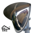 Kogelspiegel Ø600mm outdoor - kijkhoek 180° - SKG VV keurmerk