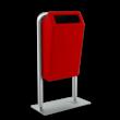 Capitole basic inclusief staanders met voetplaat