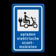 Informatiebord - Oplaadpunt elektrische scootmobielen