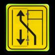 Klapbord WIU T31 - links/rechts - 90x100cm conform RVV