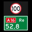Hectometerbord BB08 re met A01100