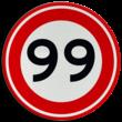 Verkeersbord RVV A01-000 - Vrij invoerbaar