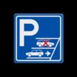 Parkeerbord Achteruit inparkeren verplicht