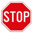 Verkeersbord SB250 B5 -Stop