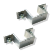 Bordbeugelset SB250 Alu (2 stuks) 40x40 mm