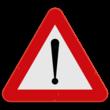 Verkeersbord SB250 A51 - Gevaar