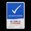 Rookvrij terrein - Smoke free - Op weg naar een Rookvrije generatie - met logo