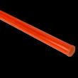 Verkeersbordpaal 2700 mm boven de grond - Staal galva Oranje RAL 2009