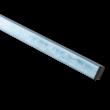 Verkeersbordpaal vierkant 1500 mm totale lengte - Staal galva