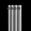 RVS afzetpaal Ø60-102mm - 900mm boven de grond - vast