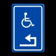 Verkeersbord RVV E06 - Routebord mindervaliden