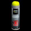 Krijtspray geel - tijdelijke markeerspray - 500 ml
