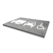 Wegmarkering - symbolen en pictogrammen