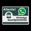 WhatsApp Buurtpreventie - Informatiebord basic - L209wa