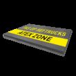 Vloermarkering - teksten - wegenverf