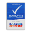 Rookvrije Generatie - Informatiebord - THIS AREA IS SMOKE-FREE