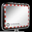 Anti-vries verkeersspiegel 800x600mm RVS