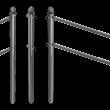 Buisligger Ø33,7mm voor geleidehek TS60 - antracietgrijs RAL 7016 of gegalvaniseerd