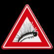 Verkeersbord - waarschuwing Eikenprocessierups