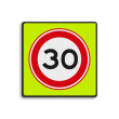 Verkeersbord RVV A01-030f - Maximum snelheid 30 km/h