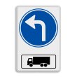 Routebord RVV D05l met vrachtwagen - BT15l