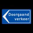 Verkeersbord RVV BB100l