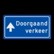 Verkeersbord RVV BB100b