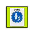 Verkeersbord RVV G07zbf - Start voetgangerszone