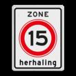 Verkeersbord RVV A0115zbh