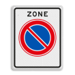 Verkeersbord RVV E01zb - parkeerzone - Start parkeerzone