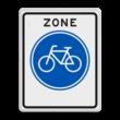 Verkeersbord RVV G11zb - Start fietszone