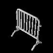 Dranghek staal - 100cm - 7 spijlen