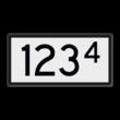 Snelheidsvermindering Onderbord - RS 226a - 400x200mm - Reflecterend