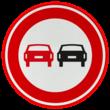 Verkeersteken RVV F01 - klasse 3