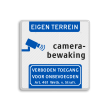 Verkeersbord Camerabewaking - Eigen terrein - Art. 461